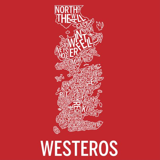 Westeros negativ röd