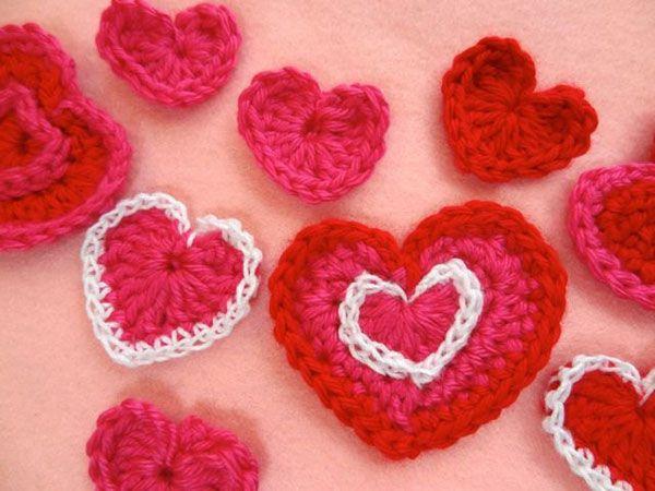 18 Best Crochet Heart Pattern Images On Pinterest Crochet Hearts