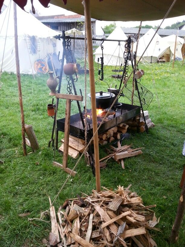 Lagerk che lagerk che pinterest vikings medieval for Viking outdoor