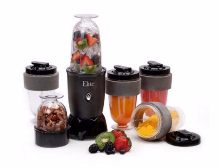 Home Blenders For Smoothies Small Juicers Food Processor With 4 Cups and Lids…
