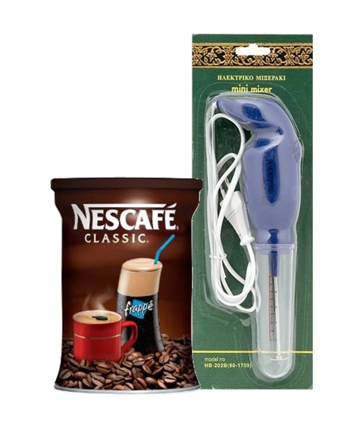 When you can't go to Greek Summer, then Greek summer comes to you! Greek cold coffee nescafe frappe & hand mixer http://agoragreekdelicacies.co.uk/online-shop/4570272291/Summer-Survival-Kit