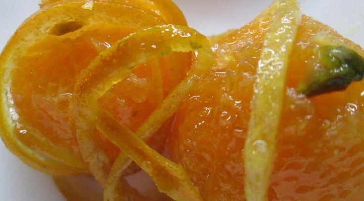 Карамельные мандарины с фисташками