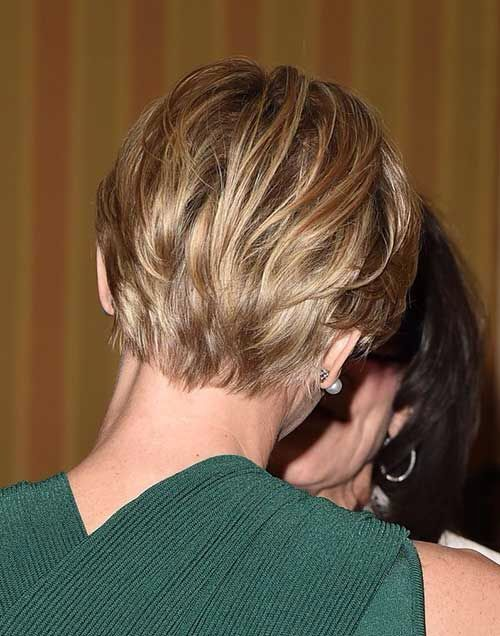 Find this Pin and more on haircuts. Blonde Short Pixie Back View - The 25+ Best Short Hair Back View Ideas On Pinterest Highlights
