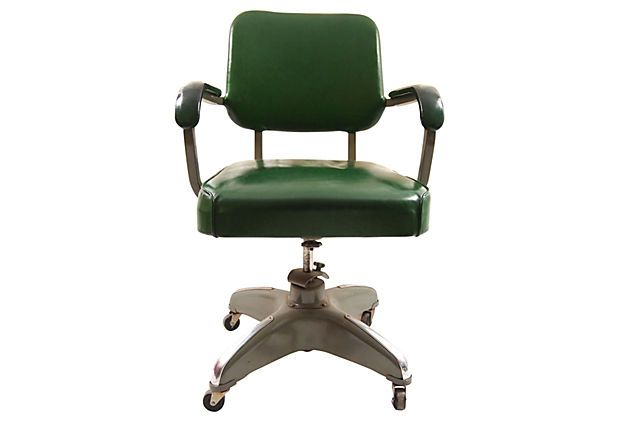 Mid-Century Modern Desk Chair on OneKingsLane.com
