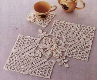 centro fiorito | Hobby lavori femminili - ricamo - uncinetto - maglia