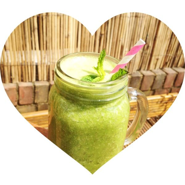 Pineapple & Mint Smoothie Recipe This pineapple and mint smoothie recipe is great for those with digestive issues: mint calms the stomach and pineapple contains bromelain which helps break down food.