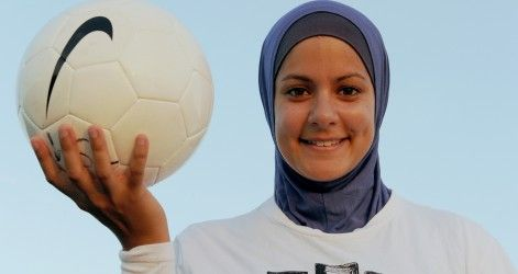 Calcio e velo, incompatibili? Per la Fifa non più.... http://goo.gl/QuTbq