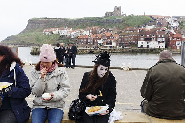 Martin Parr. England '14 Yorkshire. Whitby