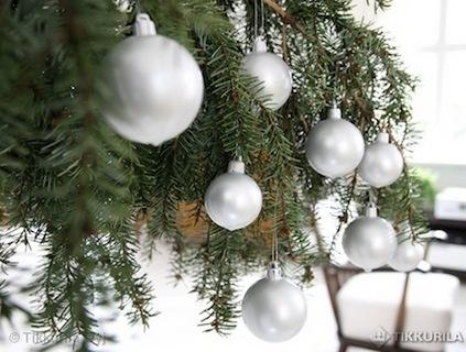 Pelasta vanhat, kuluneet joulukuusenkoristeet kastamalla ne Taika-maaliin.