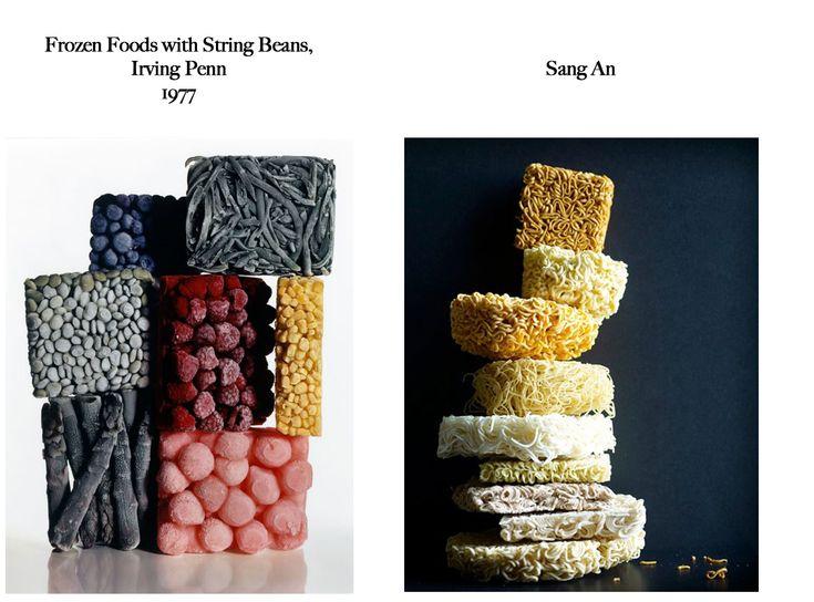 Feels Familiar? Irving Penn VS Sang An. #Hommage