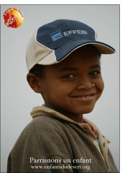 Carte Parrainons un enfant pour envoyer par La Poste, sur Merci-Facteur !