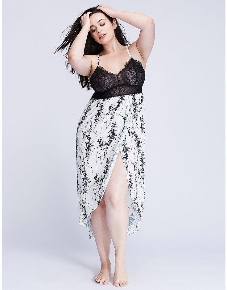 Floral Print Sleep Gown | Lane Bryant