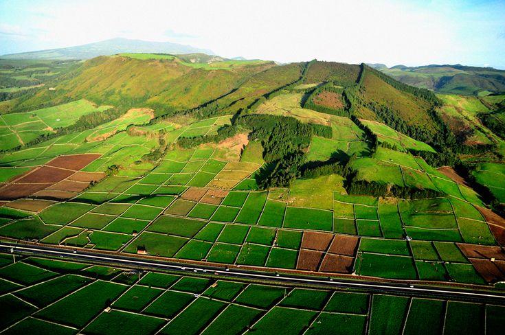 SIARAM :: Paisagem da ilha Terceira, Terceira Island, Azores, Portugal