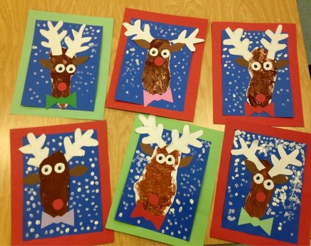 kindergarten reindeertrace foot for the headsponge
