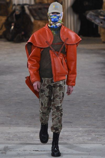 See the complete Walter Van Beirendonck Fall 2017 Menswear collection.