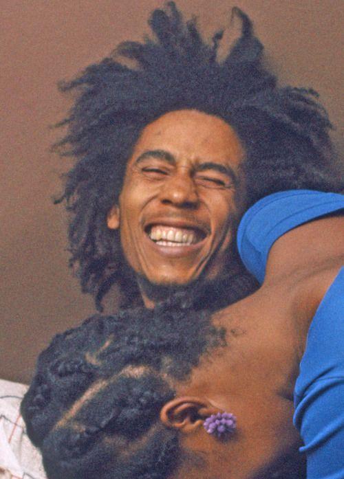 Bob Marley and friend
