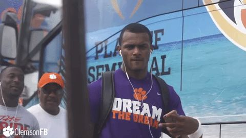 New trendy GIF/ Giphy. peace college football watson tigers ncaa football clemson peace sign clemson football clemsontigers byog dw4 daboswinney. Let like/ repin/ follow @cutephonecases