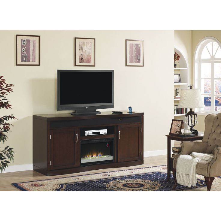 1000+ Ideas About Electric Fireplace Media Center On