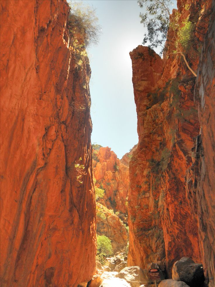 Standley Chasm. From Alice Springs central outback Australia http://www.holiday-australia.com/popular-destinations/central-australia/