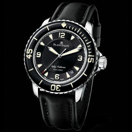 Fifty fathoms automatique 5015 1130 52 watch straps for Miroir 50 x 150