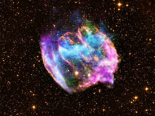Rare supernova remnant may contain our youngest black hole - Crave