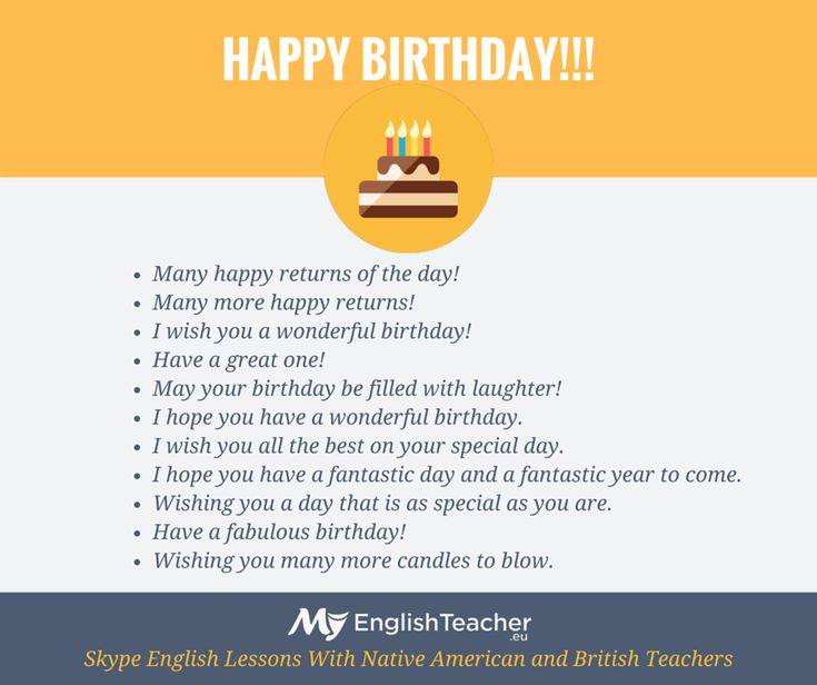 Other ways to say Happy Birthday!