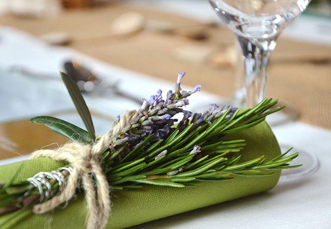 Hochzeitsdeko Vintage Lavendel : Deko für alle Sinne - Thymian ...