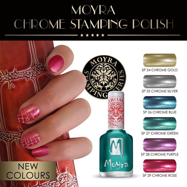 Nieuw Chrome Stempel Polish #moyranederland #import #chrome #chromenails #manicure #nederland #nagelstyliste #nagelstudio #nagelsalon #stamping #stempel #nagellak
