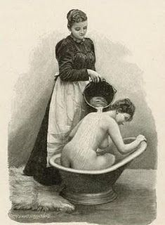 A variant method of using a Victorian hip bath