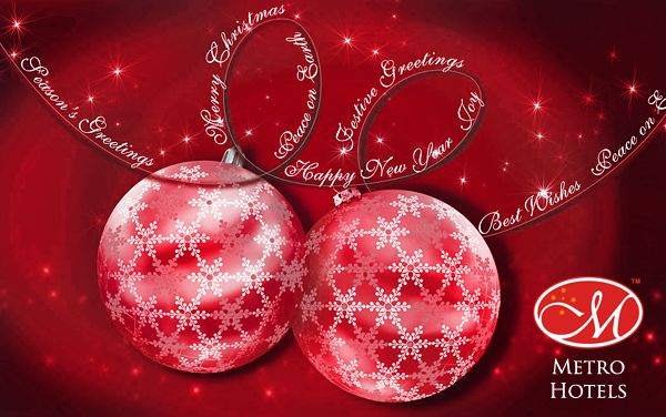 Merry Christmas from Metro Hotels!