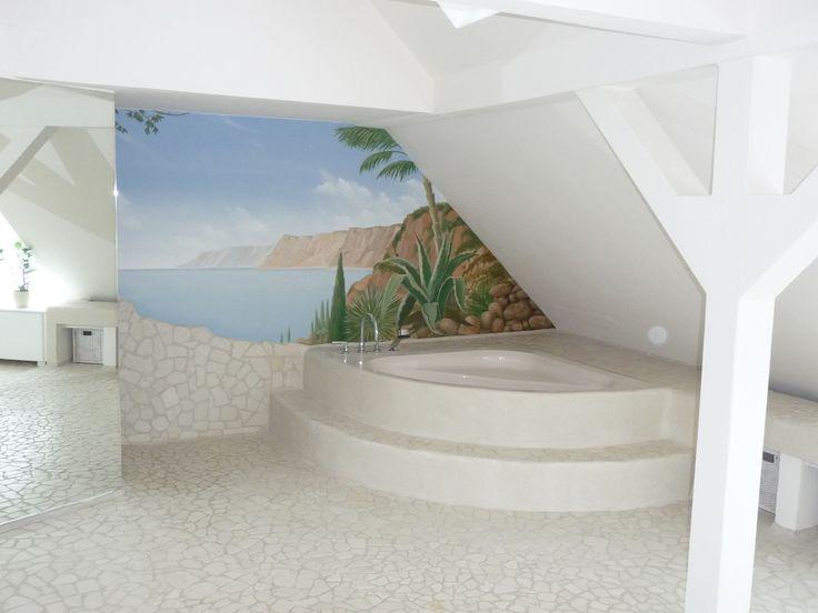Die besten 25+ Traumhafte Badezimmer Ideen auf Pinterest Tolle - wohnzimmer vorwand mit deko nische