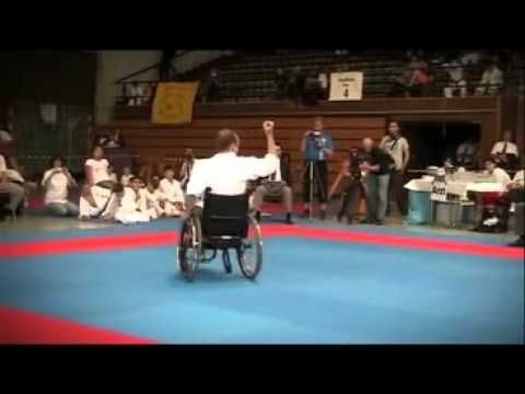 WKF Karate Disability.    martial arts and combat sports
