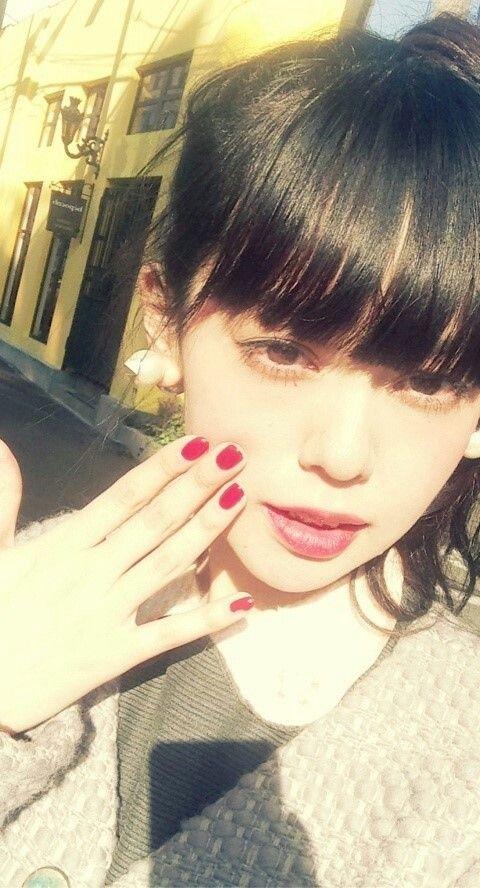 Japanese model / 青柳文子