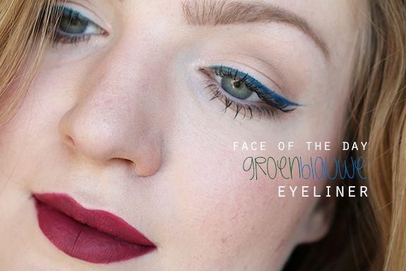 fotd_groen_blauwe_eyeliner01