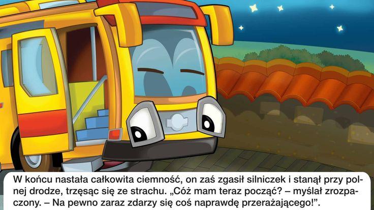 Bajka dla dzieci - Autobus - Baśń