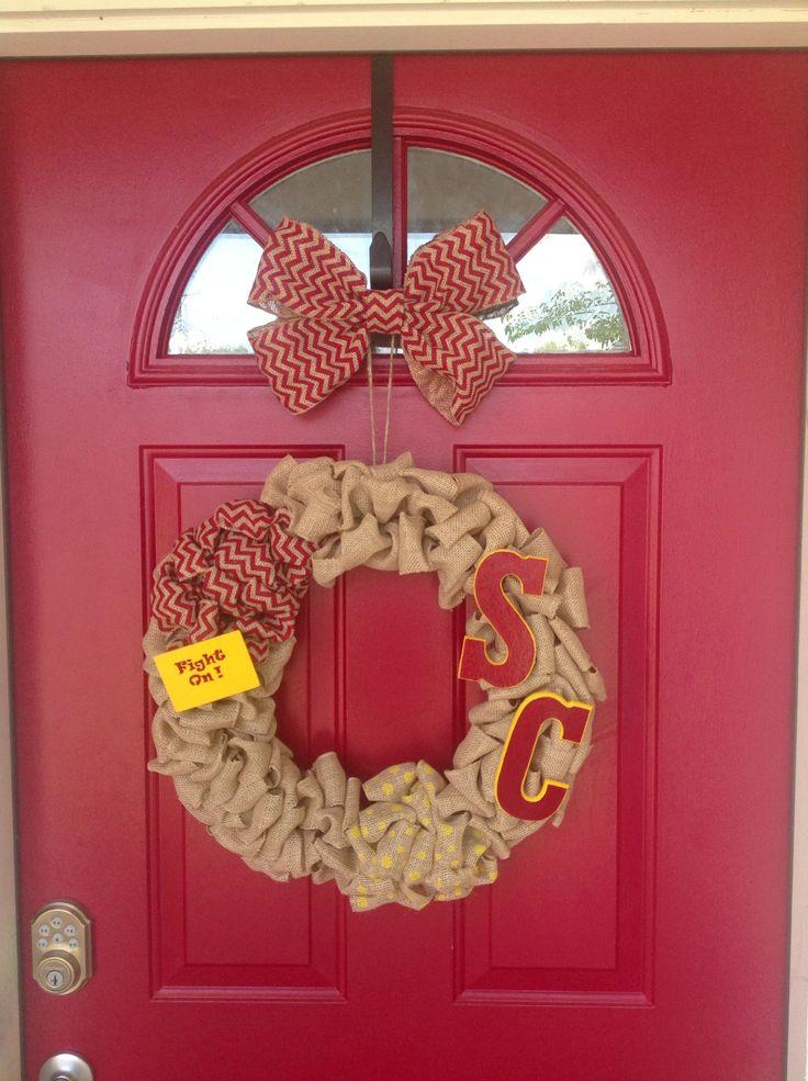 USC Trojans Wreath