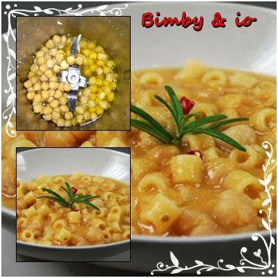 Le ricette di Valentina & Bimby: PASTA E CECI