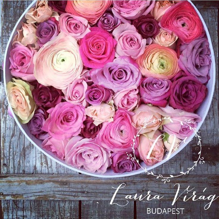 """1,325 kedvelés, 2 hozzászólás – Muszula Timi (@viraglauravirag) Instagram-hozzászólása: """"#flower #flowers #flowerbox #lauravirag #lauravirág #viraglauravirag #ranunculus #rose"""""""