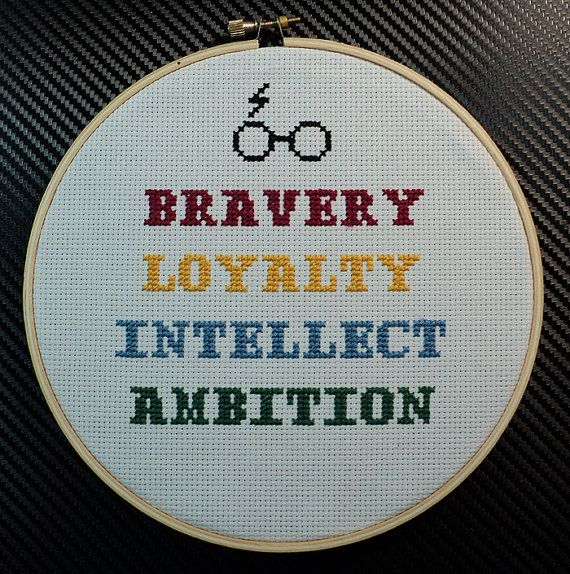 7 Harry Potter Hogwarts House Traits by EmberSands on Etsy