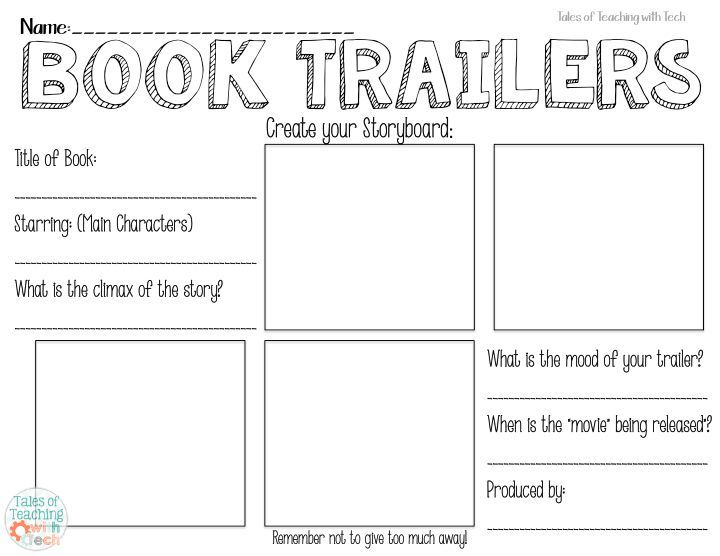 iTeach Third: Using Book Trailers to Entice Readers