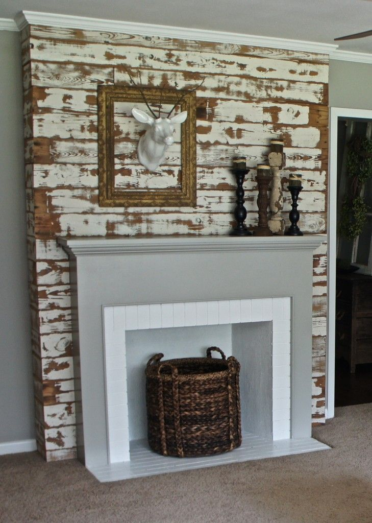 25+ best Fake mantle ideas on Pinterest | Fake fireplace mantel ...
