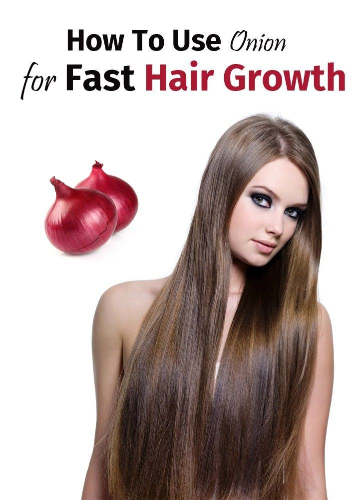 how to get long hair fast at home