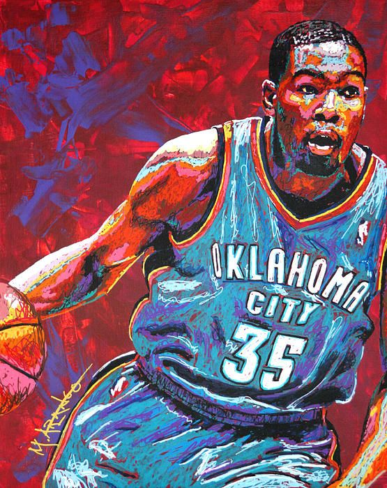 Kevin Durant Painting