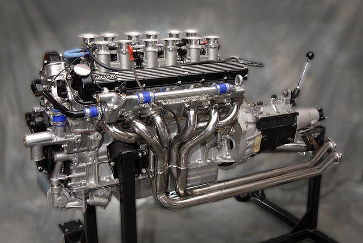Jaguar V 12 + Transmission