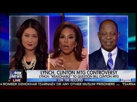 Growing Outrage Over Lynch -Clinton Secret Meeting - On The Record