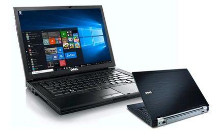 """Generalüberholtes Dell Notebook mit14.1"""" Display, DVD-Laufwerk und Windows 10 Home Premium"""