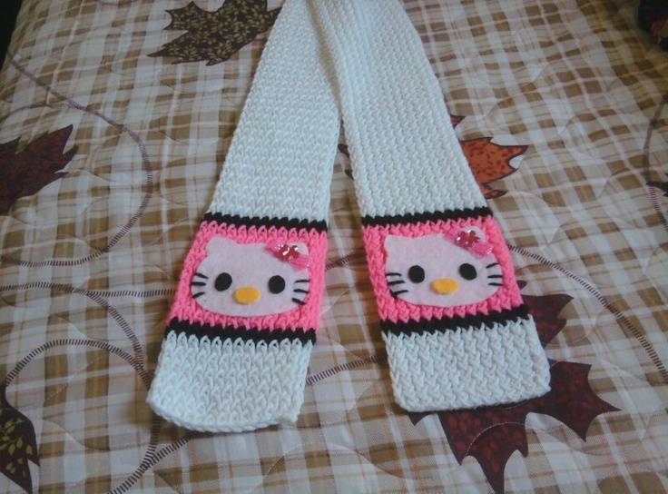 Hello Kitty Knitting Pattern Socks : 127 best images about loom knitting on Pinterest