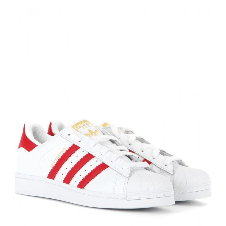 Adidas Originals - Superstar Foundation leather sneakers - Adidas brings  back the iconic 'Superstar'