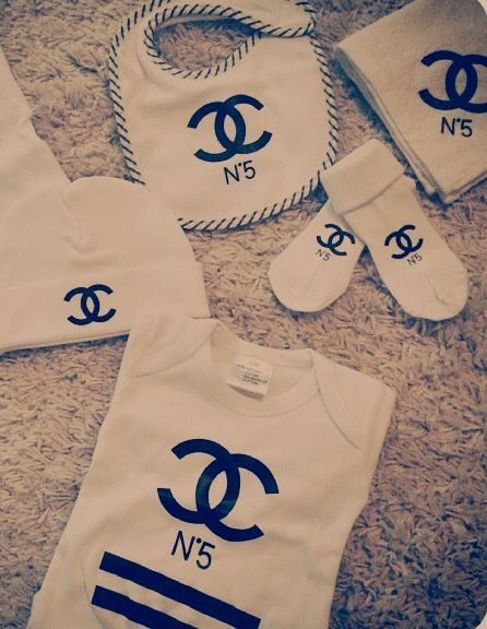 Baby clothes from Chanel by JHELISSA M | We Heart It