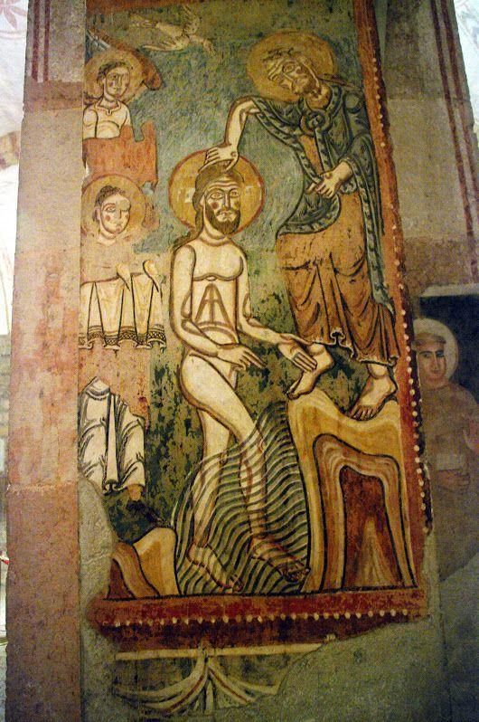 Italia - Verona - Iglesia de San Fermo - pinturas